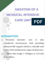 Organization of a Neonatal Intensive Care Unit