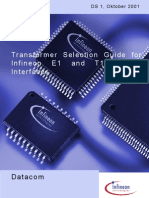 Data Sh01_Transformer Selection Guide DS1_Infineon