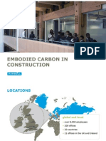 Embodied Carbon in Construction March 2010