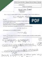 Cálculo de Varias Variables ejercicios