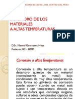 Corrosion a Alta Temperatura 2013