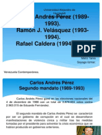 Diapositivas de Venezuela Contemporanea
