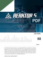 Reaktor 5 Getting Started German