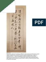 Caligrafias Chinas
