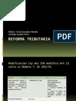 Reforma Tributaria2012