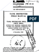 FM 18-15 Tank Destroyer Field Manual 1943