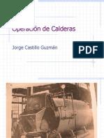 Operación de Calderas