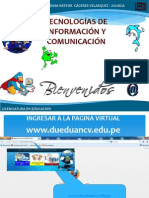 TICs Manejo de Plataforma Virtual