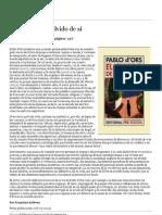 El Imparcial_ Version para imprimir_ Pablo d'Ors_ El olvido de sí