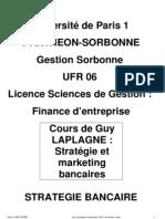 Stratégie bancaire Extraits cours 2011 EPI