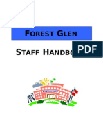 forest glen staff handbook 2012-13
