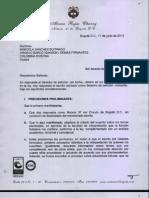 Respuesta Notario Álvaro Rojas Charry