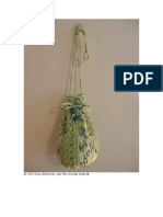 CROCHET - Drew Emborsky - Surf's Up, A Drawstring Bag