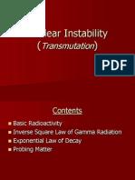 8 Nuclear Instability (Transmutation)