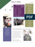Sarabande Newsletter May09