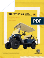 Cushman Shuttle4X 82285-G2 0113