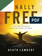 Finally Free by Heath Lambert (Excerpt)