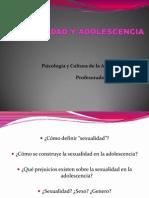 Sexualidad y Adolescencia 2011