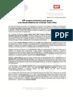 16-06-13 SHF PREPARA PRODUCTOS PAR APOYAR A LAS DESARROLLADORAS DE VIVIENDA