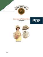 Crochet - Beach Bag