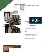 ANALYTICAL  THINKING  PROCESS (ATP)  (Proses Berpikir Analitis)