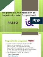 Programa de Administración de Seguridad y Salud Ocupacional