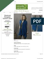 Tammy Hildebrand - Sherbrook Elongated Summer Jacket (2)