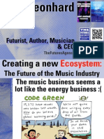 Creating a New Ecosystem- The Future of the Music Industry