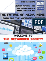 The Future of Media, News, Data and the Monitoring Business
