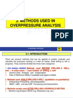 Lesson 3 - Methods Used in Overpressure Analysis