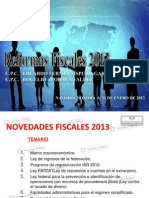 REFORMAS FISCALES 2013 CCPNS
