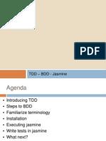 Jasmine - A BDD test framework for JavaScript