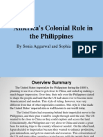 US Colonial Rule in the Philippines
