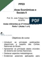 Estatisticas Sociais Economicas 2010 3 Aulas 1 4