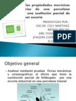Análisis de las propiedades mecánicas y refractarias de