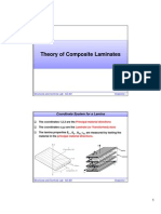 Theory of Composite Laminates