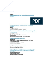 International Treaties and Conventions on Intellectual Property