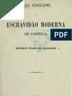 Origens da escravidão moderna em Portugal