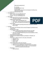 Gero - Exam 1 Study Guide