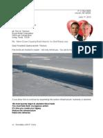 Drumbeat Rex & Barack 13-06-17 Antarctica Heats Up