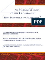 Introduction to Canadian Muslim Women at Crossroads