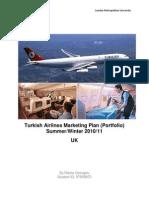 Marketing Plan of Turkish Airlines