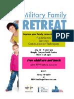 FFSC Military Family Retreat