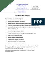 061713 Taxi Bill of Rights Draft