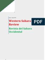 Western Sahara Review / Revista del Sahara Occidental, June 2013