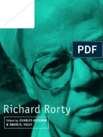 62131811 Richard Rorty