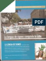 1 de Octubre de 2005, 15.000 manifestantes Nº209 Faro del Silen