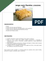 Torta de Frango Sem Farelos