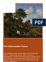 The Unknowable Future