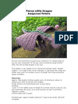 Ravelry: Fire Breathing Dragon pattern by Sharon Ojala   396x298